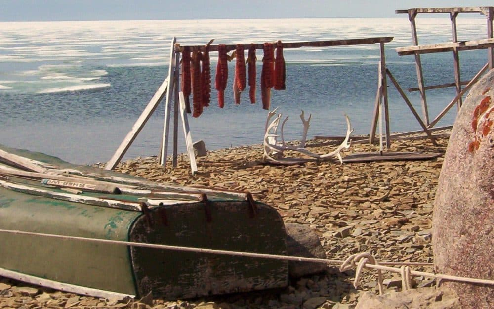 Char drying in the Arctic